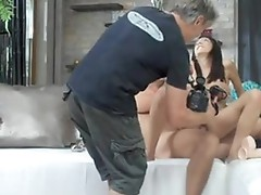 Rocco Siffredi laying his long pipe inside a wet gap