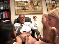Hard core fucks and sucks orgie vid