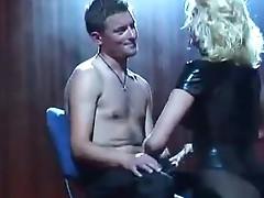 On stage nude