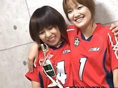 Seira kinomoto and Yuri shiina are schoolgirl lesbians