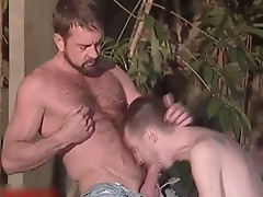Will West, Brian Austin and Rick Leon gay scene