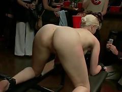 Bdsm hardcore fucking in public