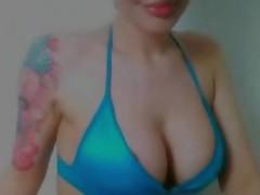 Nude chicks with dildos