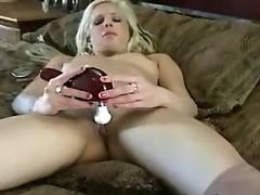 Blonde bimbo bonanza