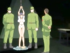 Manga hotty got imprisoned by soldiers