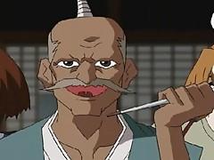 Hot manga Gay ninja fighting with a Masked dude