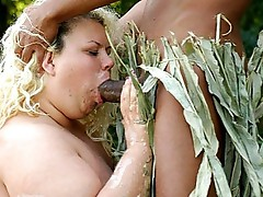 Shlong munching bbw Cynthia