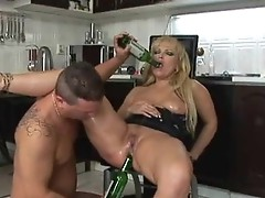 Aged milf acquires asshole fucked