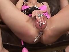 Fucking smal slut with huge cock