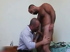 Butch grand gets ass fingered by carlo