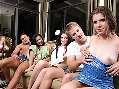 Party with smal girls porn