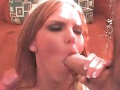 Red head shows her pssy