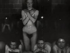 Retro Naked Satanic Ritual