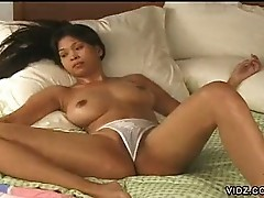 Asian whore has twat open for business