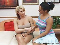 Massage or lesbian romp?