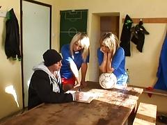Aleska Diamond-Anal Football Club scene 4