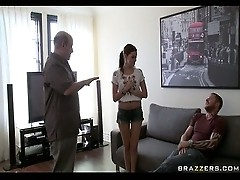 Missy gets fucked by big cock on her day off