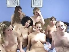 An entertaining entourage of horny bitches