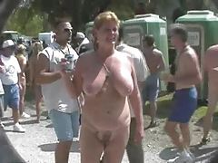 Fun at a Nudist rally 13