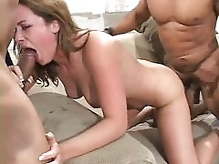 Interracial Threesome - 4