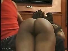 big booty spanked