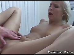 Fucked Hard During Massage