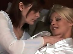 mature lesbian make out with hot blond