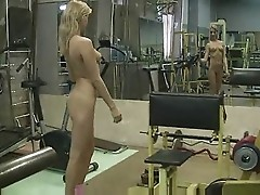 Blondie In The Gym