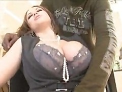 Big breasted slut nailed by BBC