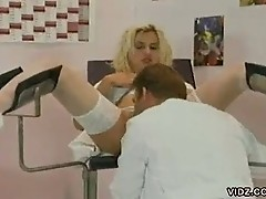 Nurses and doctors hot orgy in the clinic