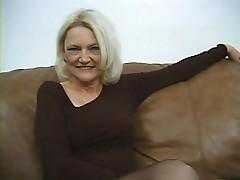 Stockings Granny has Two Men