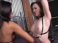 Sandra Romain & Trinity Post Fetish Lesbian SMG