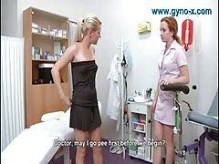 Pussy gynaecological examination