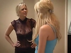 Beautiful Young Girl Seduced By Mature Lesbian - Lexi & Victoria