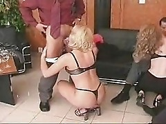 Dressed Up Orgy Party