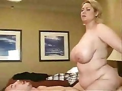Samantha Is MILF With Massive Tits