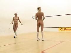 Sporty teens play dirty