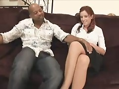 Awesome Redhead Girl Dismantled By Huge Cock