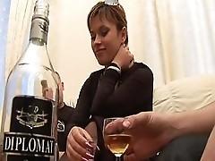 Two Guys Make Use Of Drunken Adelina