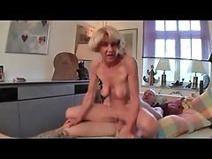 Skinny Granny Fucks More