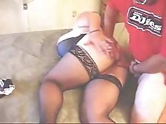 Hot BBW MILF Nikki Backdoor
