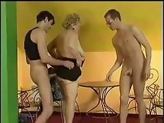 granny with 2 boys