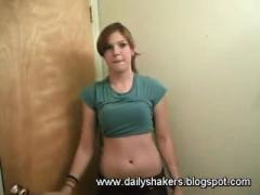 Hot White Teen Dancing In Her Room For Her Boyfriend!!! HOT