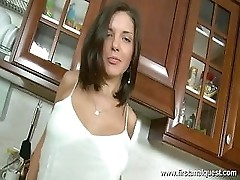 Anal Penetration In The Kitchen