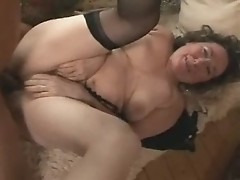 Happy Mature Lady Loves Sex