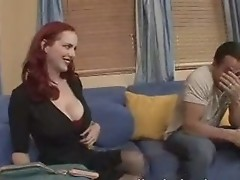 Hot Redhead Milf Likes To Fuck Younger Man
