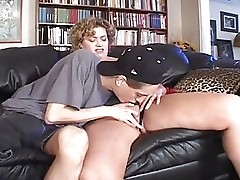 HORNY BUSTY MATURE SPRAYED BY A YOUNGER  -B$R