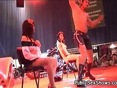 Cute girls strip off their sexy clothes