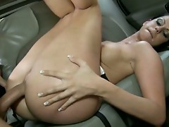 Lee Stone long strokes sexy Larissa Dee's dripping wet cunt