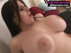 Big Boobs Brunette gets it hard pt 2